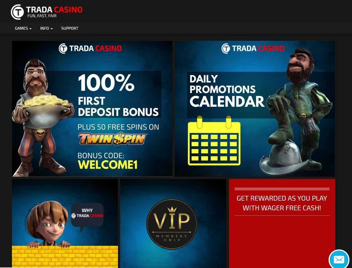 100% bonus casino