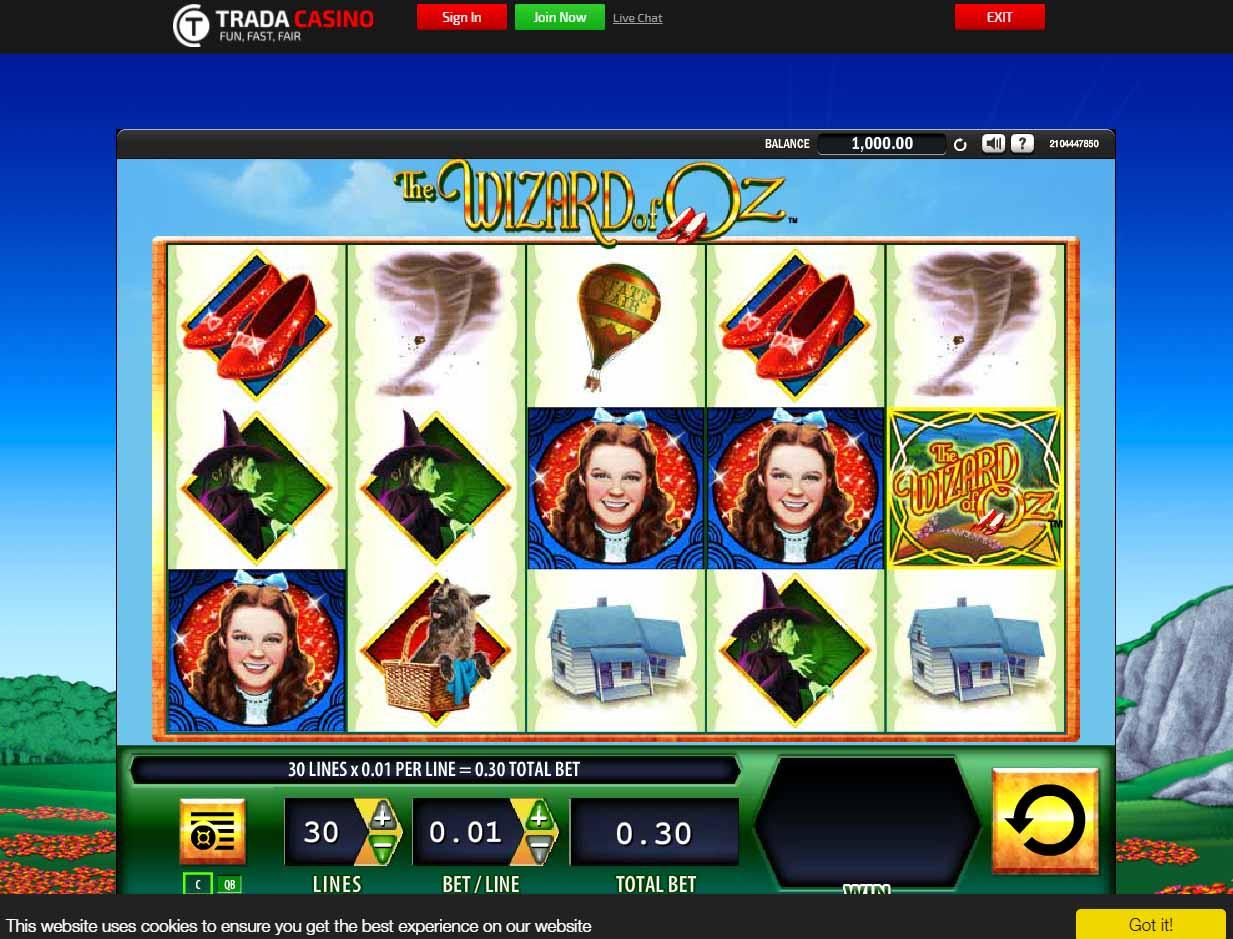trada casino deposit bonus